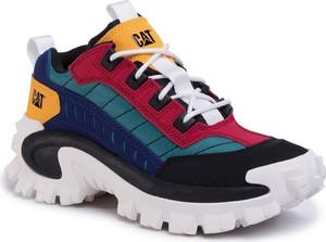 Buty sportowe Caterpillar sznurowane z nubuku
