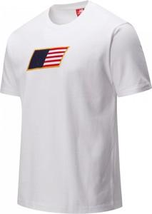T-shirt New Balance z bawełny z nadrukiem