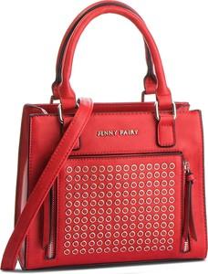 Czerwona torebka Jenny Fairy średnia do ręki