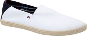 Buty letnie męskie Tommy Hilfiger z tkaniny w młodzieżowym stylu
