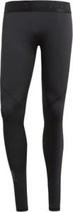 Czarne spodnie sportowe Adidas Performance