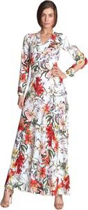 Sukienka Nife z długim rękawem w stylu boho