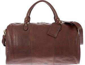 Brązowa torba podróżna Justified