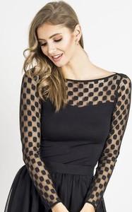 Bluzka Wow Fashion z długim rękawem z okrągłym dekoltem