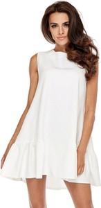 Sukienka Ohh La La w stylu casual z tkaniny bez rękawów