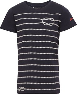 Koszulka dziecięca Lavard w paseczki dla chłopców z bawełny