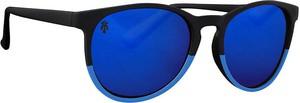 Niebieskie okulary damskie Majesty