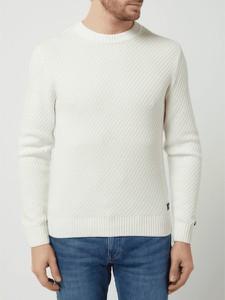 Sweter Tom Tailor w stylu casual z okrągłym dekoltem