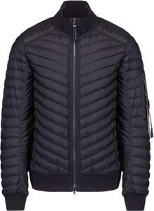 Czarna kurtka Bogner w stylu casual z tkaniny