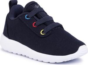 Granatowe buty sportowe dziecięce Emu Australia sznurowane