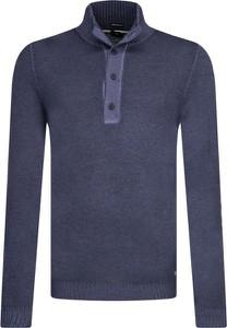 Niebieski sweter Joop! Jeans z wełny