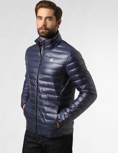 Niebieska kurtka Adidas Originals w stylu casual