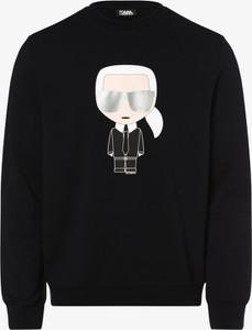 Sweter Karl Lagerfeld z nadrukiem