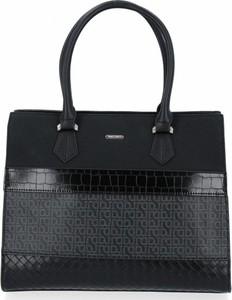 Czarna torebka David Jones duża