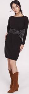 Sukienka Lanti z długim rękawem mini w stylu casual