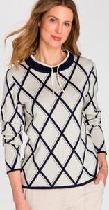 Sweter Olsen z bawełny w stylu boho