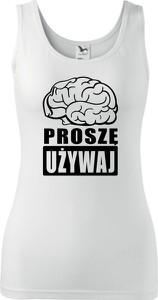 Top TopKoszulki.pl z okrągłym dekoltem w sportowym stylu