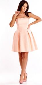 Sukienka QUARELLE bez rękawów mini rozkloszowana