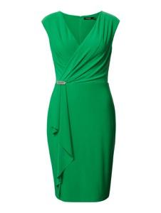 Zielona sukienka Ralph Lauren mini bez rękawów