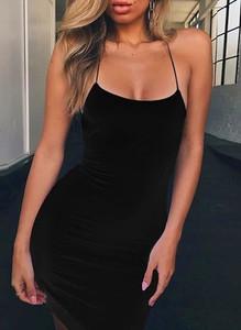 Sukienka Sandbella na ramiączkach mini