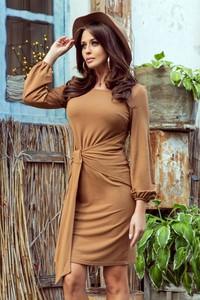 Sukienka Merg w stylu casual dopasowana