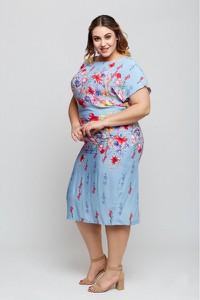 Sukienka Grandio z krótkim rękawem w stylu casual
