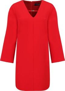 Czerwona sukienka Trussardi Jeans