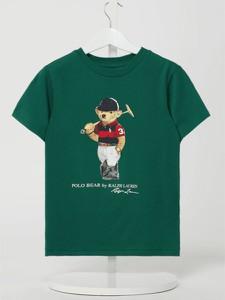 Koszulka dziecięca POLO RALPH LAUREN dla chłopców z bawełny z krótkim rękawem