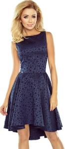 Sukienka NUMOCO mini bez rękawów z okrągłym dekoltem