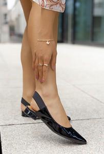 Baleriny Saway z płaską podeszwą w stylu casual