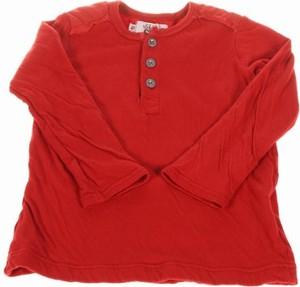 Czerwona bluzka dziecięca Sun Child z długim rękawem