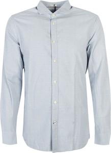Koszula ubierzsie.com z bawełny z długim rękawem z klasycznym kołnierzykiem