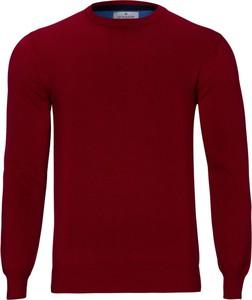 Sweter WARESHOP z bawełny w stylu casual z okrągłym dekoltem