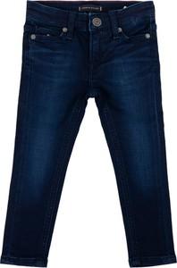 Granatowe jeansy dziecięce Tommy Hilfiger