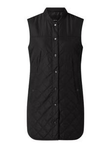 Czarna kamizelka Vero Moda w stylu casual długa