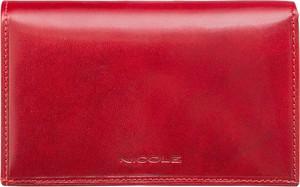 2d7c9884b4f1e portfele skórzane damskie nicole - stylowo i modnie z Allani