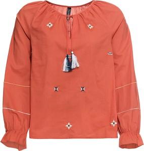 Bluzka bonprix RAINBOW z okrągłym dekoltem z długim rękawem