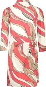 Sukienka Elisabetta Franchi w stylu casual prosta mini