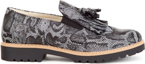 Granatowe półbuty Zapato