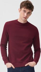Czerwona bluza Sinsay w stylu casual