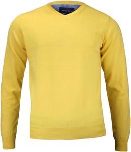 Sweter Adriano Guinari w stylu klasycznym z bawełny