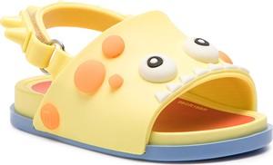 Żółte buty dziecięce letnie Melissa