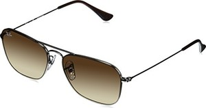 Okulary przeciwsłoneczne ray-ban gunmetal 0rb3603 004/13 56 (średnica soczewki: 56 mm)