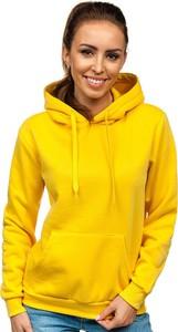 Żółta bluza Denley z dzianiny