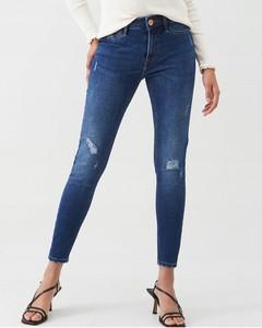Niebieskie jeansy River Island w stylu casual z jeansu