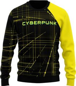 Bluza Vision Wear Sport w młodzieżowym stylu z bawełny w geometryczne wzory