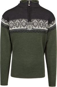 Zielony sweter Dale of Norway z wełny w młodzieżowym stylu