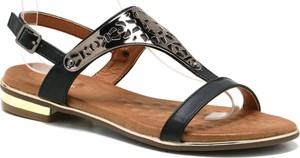 Sandały T.sokolski z płaską podeszwą z klamrami w stylu casual