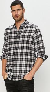 Koszula Diesel w stylu casual z długim rękawem z tkaniny