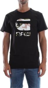 Czarny t-shirt G-star